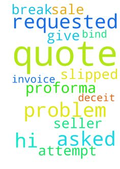 Hi there I have problem I asked for a quote and the - Hi there I have problem I asked for a quote and the seller slipped in a proforma invoice in an attempt to bind me to a sale. I requested a quote and need the Lords help to break this deceit and give me the quote I requested.  Posted at: https://prayerrequest.com/t/NFF #pray #prayer #request #prayerrequest