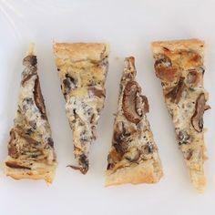Creamy Mushroom Tart — Mmm… is for Mommy