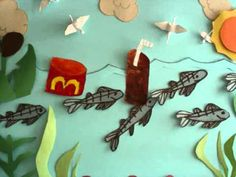 Salmon Life Cycle Stop Motion Video with Narration - YouTube
