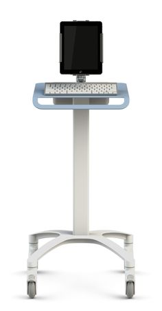 I pad holders | Medical iPad stand offers a unique solution to health care ergonomic ...