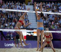 "#Olimpiadi di #Londra 2012, Greta #Cicolari ""mura"" l'americana Misty May-Treanor"