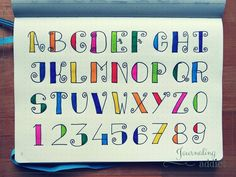 #alphabet #doodle #calligraphie #doodling #journalingaddict #bulletjournal #bujo #bulletjournaling