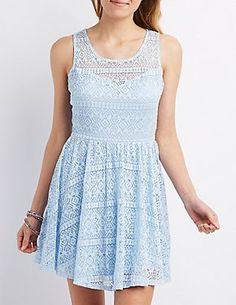 C a lace dress charlotte