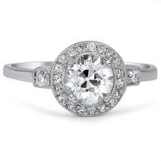 The Baylee Ring #BrilliantEarth #Vintage