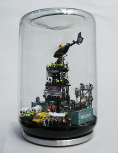 "Showing: James Cauty – ""A Riot in a Jam Jar"" @ L-13 « Arrested Motion"