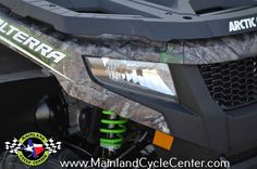 New 2016 Arctic Cat Alterra 700 XT™ ATVs For Sale in Texas. Buy now and save $1,900 OFF OF MSRP +Financing as low as 1.9% for 60 months* Mainland has the Arctic Cat deals and we want to earn your business! 2016 Alterra 700 XT EPS Camo Alloy wheels Fully independent suspension 550ccSingle cylinder engine Power Steering Fuel Injection Digital Instrumentation Shift on the fly 2 and 4 wheel drive *Financing with approved credit, rates may be higher, not all buyers will qualify for the lowest…