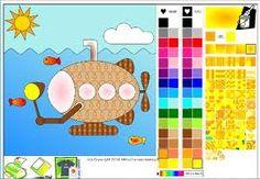 Coloriez à partir de couleurs ou de motifs, importez vos propres photos, imprimez vos chef d'œuvres et épatez vos amis.