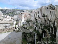 Matera city in south italy