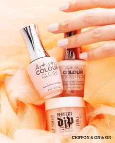 Artistic Colour Revolution, Perfect Dip and Colour Gloss Soak Off Gel Nails, Art Competitions, Latest Instagram, Natural Lashes, Pedicure, Revolution, Dip, Chiffon, Nail Art