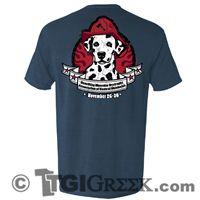 TGI Greek Tshirts - Pi Kappa Alpha - Fireman's Ball - Philanthropy