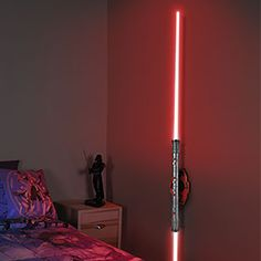 The final test for a Sith apprentice: building your own lightsaber lamp! Dual-blade Darth Maul lightsaber design can be mounted horizontally or vertically, and includes a fun learning guide and assembly instructions.