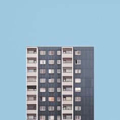 Fine art photographer Malte Brandenburg's 'Stacked' series explores the architecture and urban design surrounding Berlin's post-war tower blocks.