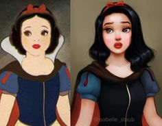 Snow White is ready to join Kat Von D's artistry collective.