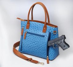 GTM-51 Town Tote Blue