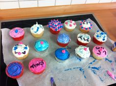 Easy to add design for cakes and cup cakes even for first timers