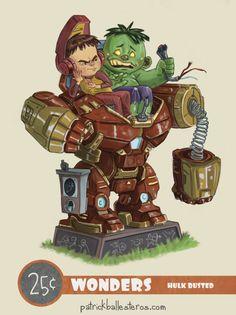 Image of Hulk Busted