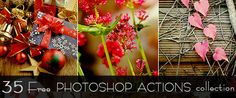 35 Free Photoshop Actions Collection