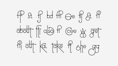 This Crazy Gorgeous Font Evolves As You Type With It | The Huffington Post