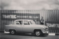 1955 Toyopet Crown by Tomica Limited vintage