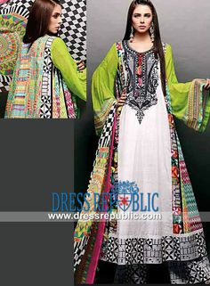 Ajwa Textile Charismatic Noir Lawn 2014 Collection Designer Lawn 2014 Shop the Latest Ajwa Textile Charismatic Noir Lawn 2014 Collection