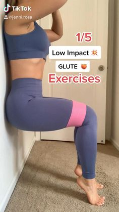 You can see more videos like this one on my tiktok byjennirosa 💕 get your resistance band today 🤩 jennirosa.com Fitness Workouts, Gym Workout Videos, Gym Workout For Beginners, Fitness Workout For Women, Fitness Goals, Fitness Tips, Fitness Motivation, Inner Leg Workouts, Yoga Fitness