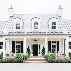 Seriously can't get over how many decisions go into designing a home 😳 Finalizing the exterior details and realizing we need to have these gorgeous windows under our porch...4 pane + transom + shutters 📷: @beckiowens