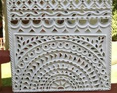 Diy Clay, Clay Crafts, Arts And Crafts, Clay Wall Art, Clay Art, Mirror Art, Mirrors, Indian Wall Art, Diy Diwali Decorations