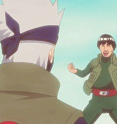 Kakashi and Guy - BFF!!!!!!!! #Naruto