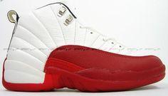 036a574c4fb1d Air Jordan 12 (XII) Original (OG) - Blanc   Varsity Rouge -