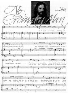 Music, No Ordinary Man