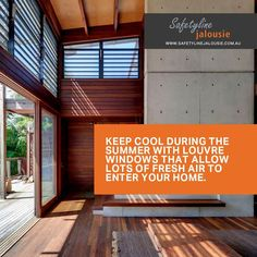 Keep cool during the summer with louvre windows that allow lots of fresh air to enter your home. Building Management System, Louvre Windows, Keep Cool, Questions, Indoor Air Quality, During The Summer, Cool Designs, Fresh, Cool Stuff