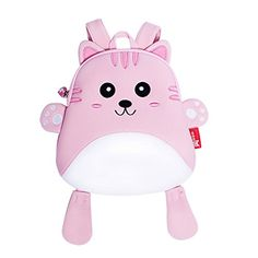 Ofun Mini Bag Toddler Backpack Pink Cat Gift For Little Girl Baby 13 years old NH055CAT -- Click on the image for additional details.Note:It is affiliate link to Amazon.