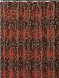 burgundy and gold shower curtain. Finally  a shower curtain that actually goes with my housing ideas Gator Heavy Faux Croc Crocodile Skin Fabric Shower Curtain 70 by
