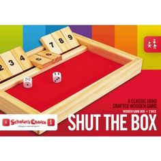 Scholar's Choice Shut the Box