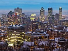 Montreal, Quebec I thought this city was super romantic.