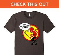 Mens Put the Alphabet in Math Teacher Gift T-Shirt Apparel 2XL Asphalt - Math science and geek shirts (*Amazon Partner-Link)