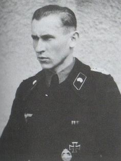 Tiger Ace Alfred Rubbel at least 60 kills . Member of heavy tank battalion 503`th (Schwere Waffen SS Panzer-Abteilung 503)