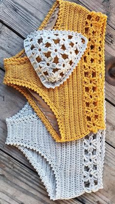 Summer Free Crochet Bikini Pattern Design Ideas for This Year - Page 36 of 38 - Daily Crochet! Summer Free Crochet Bikini Pattern Design Ideas for This Year - Page 36 of 38 - Daily Crochet! Pull Crochet, Crochet Bra, Crochet Bikini Pattern, Mode Crochet, Crochet Clothes, Crochet Patterns, Diy Crochet Swimsuit, Swimsuit Pattern, Crochet Octopus