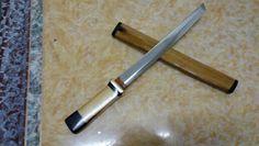 """Hcs 18"""" wakizashi .. visit my facebook page 5zone kustom knives"""