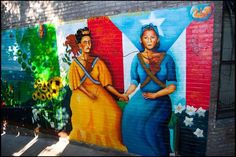 Frida and Julia… Mexican artist and Puerto Rican poet… Latina love!