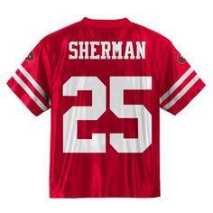 947248f3533 Blank Red Stitched Toddler jersey | 49ers toddler's jerseys ...