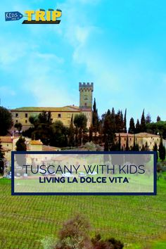 Here are some tips for traveling in Tuscany with kids. From renting a car at the Florence Airport to visiting cities in the country: San Gimignano, Volterra.