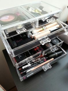 Awesome makeup storage from Jysk
