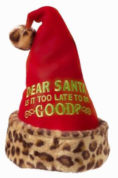 4eb96a4c4d7 Fabulous Chris Miss Hat Grasslands Road Santa is it Too Late to be Good   Santa