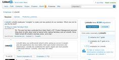 ¿Aún no tienes una página de empresa en LinkedIn? Descubre las ventajas y las posibilidades de las empresas en la red social de los profesionales.