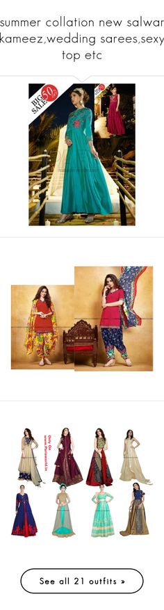 """summer collation new salwar kameez,wedding sarees,sexy top etc"" by parisworld-surat ❤ liked on Polyvore featuring Boohoo, Zimmermann, Charlotte Olympia, Stila, Lokai, Gucci, Holiday Lane, men's fashion and menswear"