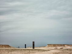 "Nicolas Niarchos on Richard Serra's new sculpture, ""East-West/West-East,"" located in the middle of the western Qatari desert."