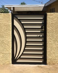 Modern Gate Gallery All - Artistic Iron Works - Ornamental Wrought Iron Specialists Fence Wall Design, Window Grill Design Modern, Front Gate Design, Steel Gate Design, Grill Door Design, Balcony Railing Design, House Gate Design, Door Gate Design, Iron Main Gate Design