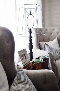 DIY Antique Industrial Lamp -