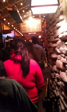 Even the line is a good time. Read this fun blog!